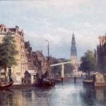 Title: Groenburgwal, Amsterdam. Creator: Eduard Alexander Hilverdink